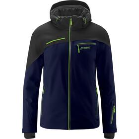 Maier Sports Fluorine Jacket Men, azul/negro
